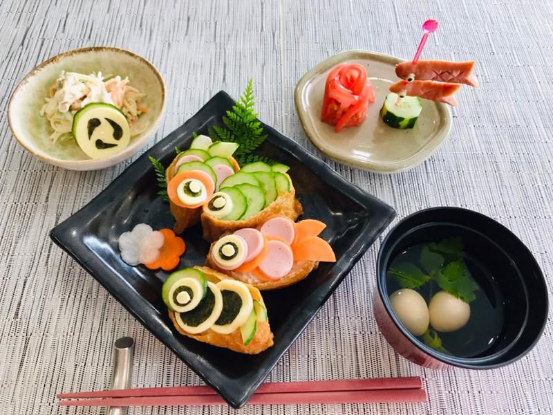 稲荷寿司(鯉のぼり)